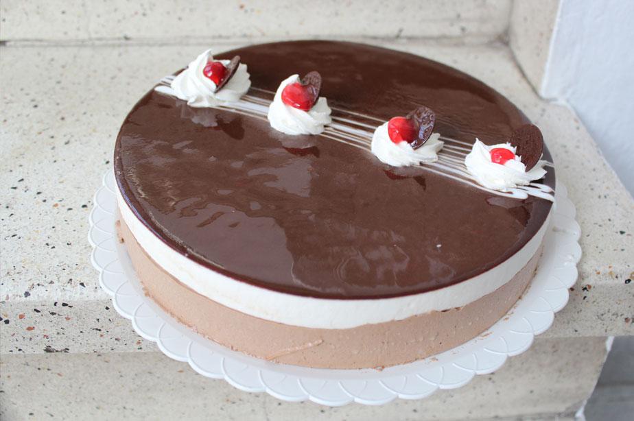 Tarta de tres chocolates | Cercadillo