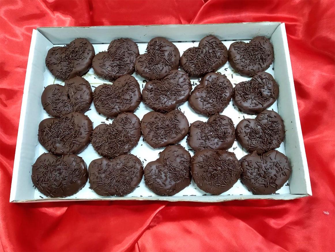 Palmeritas Artesanas Chocolate | Cercadillo